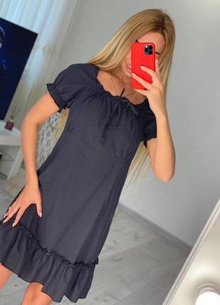 Платье льняное3 фото