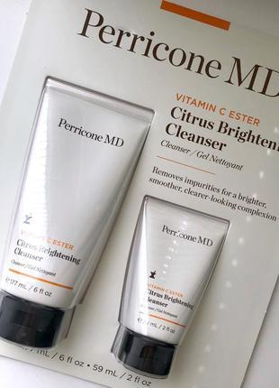 Гель для умывания perricone md - vitamin c ester citrus brightening cleanser
