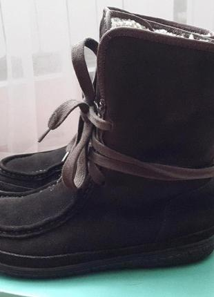 Ботинки зимние clark's оригинал