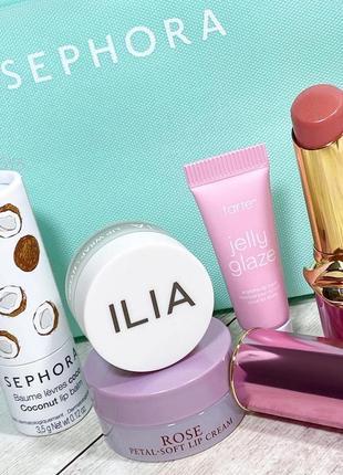 Набор бальзамов для губ sephora favorites - give me some lip balm set