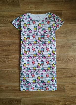 M&s snooze домашнее платье, ночнушка