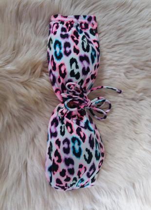 Яскравий леопардовий верх з купальника/купальник верх3 фото