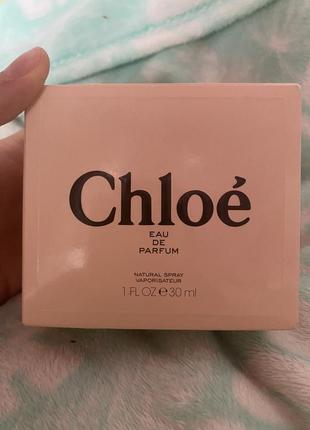 Парфюм chloé eau de parfum
