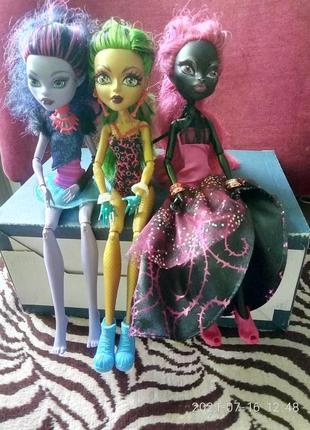 Игрушки куклы монстер хайм