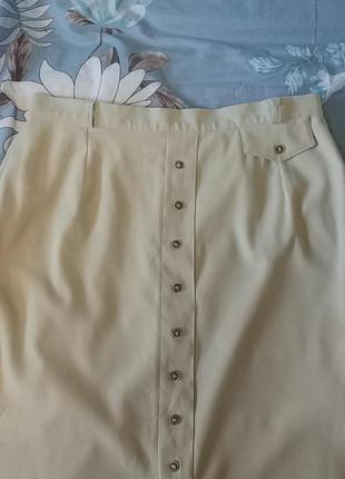 Красивая нюдовая юбка миди c&a3 фото