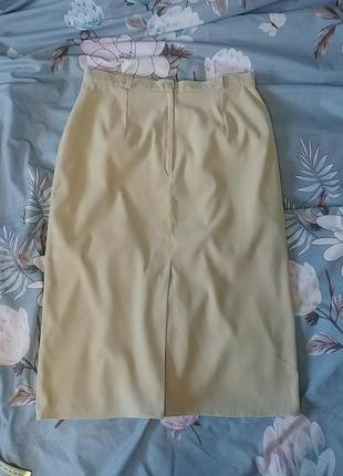 Красивая нюдовая юбка миди c&a4 фото
