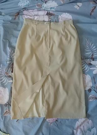 Красивая нюдовая юбка миди c&a5 фото