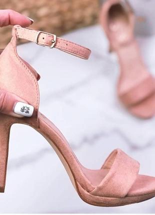 ,женские босонодки на каблуке 10 см