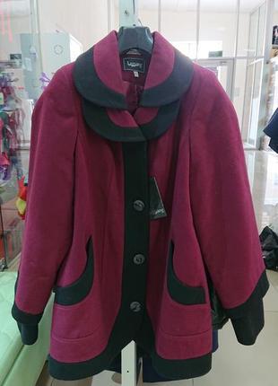 Пальто кашемир новое распродажа большой размер