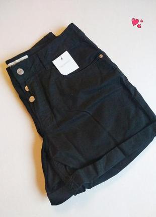 Шорты terranova p.27 с пуговицами в стиле кэжуал, молодежная одежда