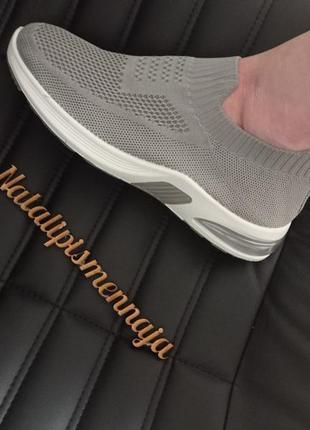 Текстильные кроссовочки!самая удобная обувь,гнутся и легкие!3 фото