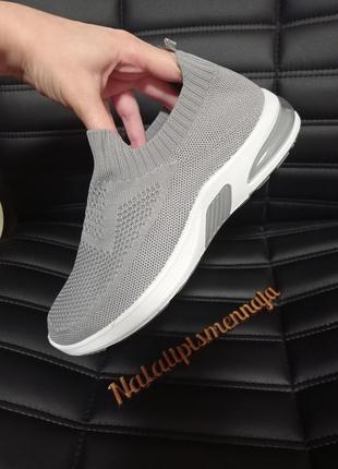 Текстильные кроссовочки!самая удобная обувь,гнутся и легкие!4 фото