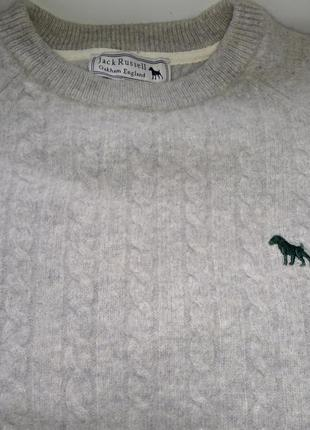 Овечья шерсть свитер