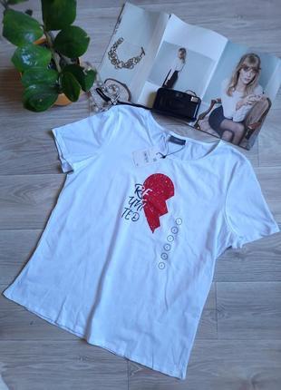 C&a яркая футболка р xl