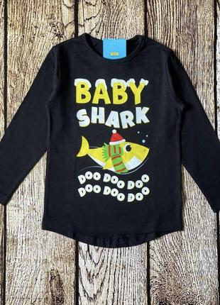 Новогодняя кофта реглан baby shark 🦈