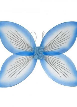 Крылья для костюма бабочки феи большие 45х70см