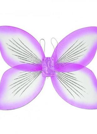 Большие крылья феи или бабочки сиреневые