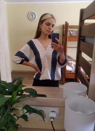 Акция! свободная  блузка