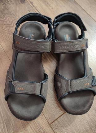 Skechers 45 р (на ногу 29 см) сандалі чоловічі в хорошому стані