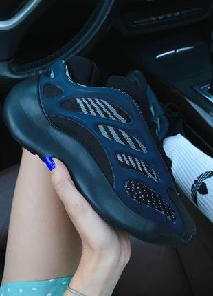 ❤ женские текстильные кроссовки  adidas yeezy boost 700 v3   ❤