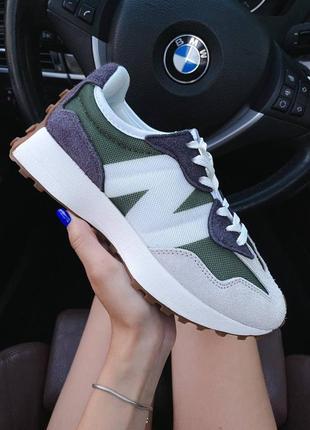 ❤ женские замшевые кроссовки  new balance 327