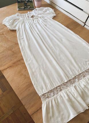 Красивое длинное платье на лето