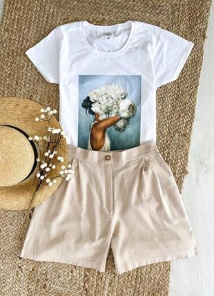 Комплект футболка+шорти