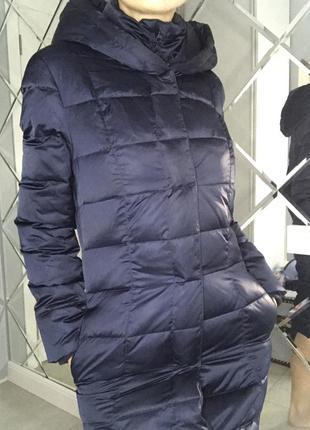 Пуховик-пальто евро зима