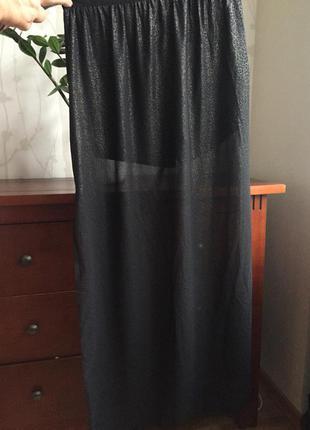 Модная женская юбка с шортиками