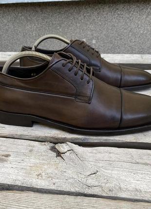 Оригинал кожаные премиум туфли canali italy