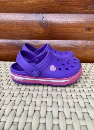 Crocs детские сандали тапки 23 размер 24