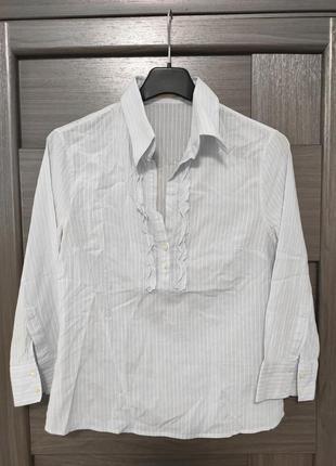 Женская  лёгкая рубашка  от премиум бренда  massimo dutti оригинал . размер : 42/32