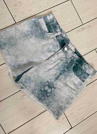 Шорты в стиле тай дай, шорты от calvin klein, шорты на лето келвин кляйн