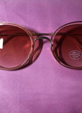 Розовые солнцезащитные очки house