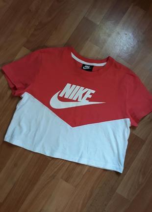 Кроп-топ футболка nike, оригинал