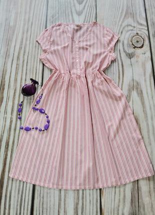 Красивое лёгкое платье 100%хлопок