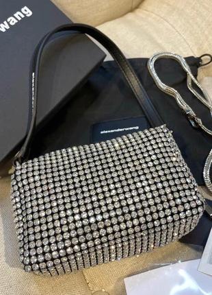 Новая брендовая сумочка-клатч! в стиле alexander wang