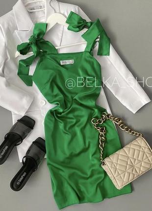 Платья красивое шелк
