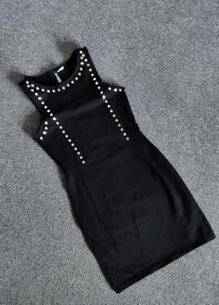 Якісна стрейчева сукня з щільної бавовни