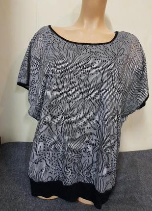Модная,стильная блуза большого размера