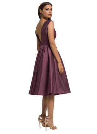 Нарядное коктейльное пышное платье! распродажа!