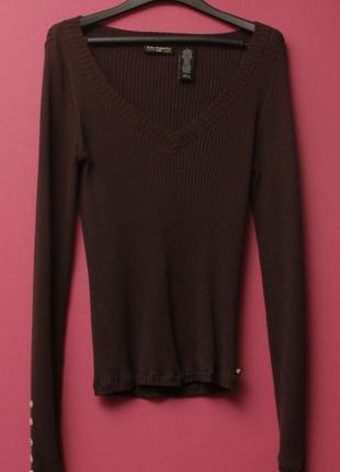 Polo ralph lauren рр l свитер из эластичного хлопка перламутровые пуговки