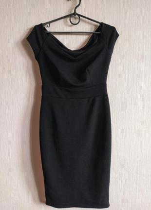 Шикарное фактурное платье на плечи