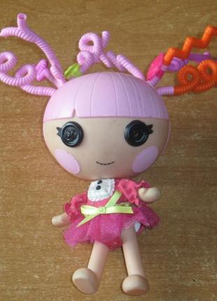 """Кукла малышка блестинка ,  """"чудо-завитушки"""",  lalaloopsy из серии   - удивительные прически"""