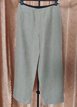 St.michael брюки штаны лён размер uk14 eur44