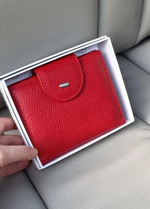 Жіночий шкіряний компактний гаманець кошельок dr.bond
