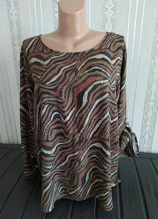 Якісна  блуза сорочка великий розмір