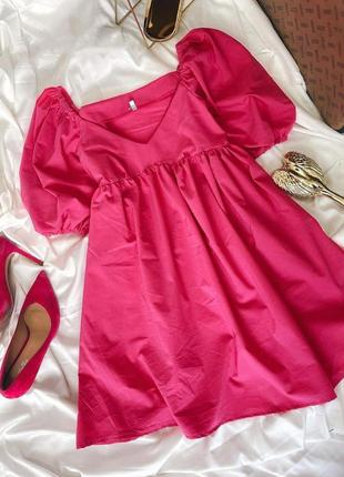 Платье baby doll♥️отлично садится по фигуре😍must have этого лета, лёгкое и очень удобное💔