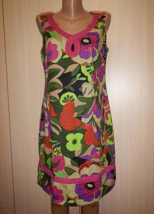 Платье бохо promod p.40 100% хлопок