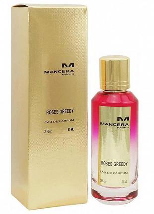 Mancera roses greedy (тестер luxury orig.pack!) edp 60 ml